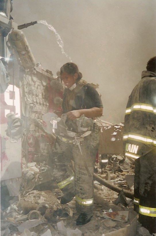 FDNY Firefighter Regina Wilson_on 9.11.01