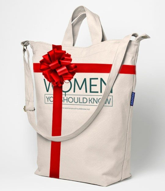 Women You Should Know Holiday Giveaway Tote