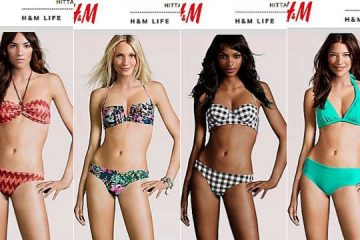 H&M virtual models