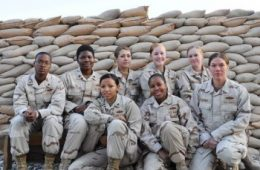 All Female History Making US Navy Seabees Team
