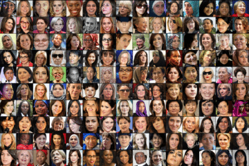Daily Beast Women In The World Photo Montage