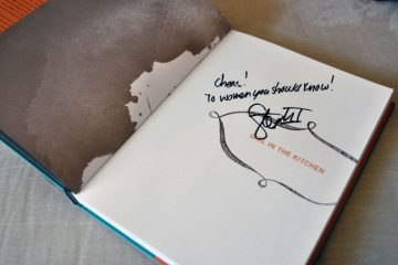 Signed Stephanie Izard Girl In The Kitchen Cookbook