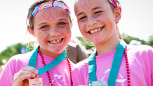 Girls on the Run runners