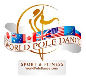 World Pole Sport logo pole dance