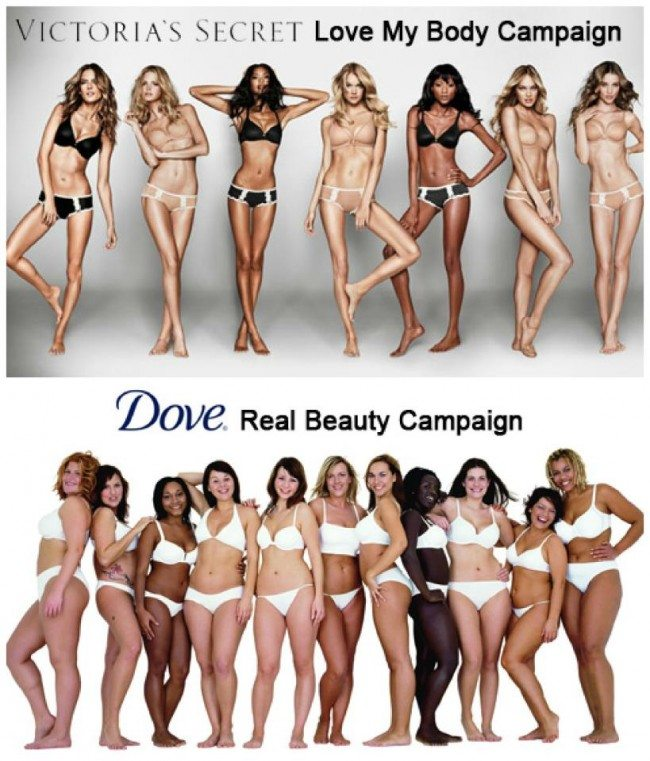 Fantasy vs Reality, Victoria Secret vs Dove - Women You Should Know