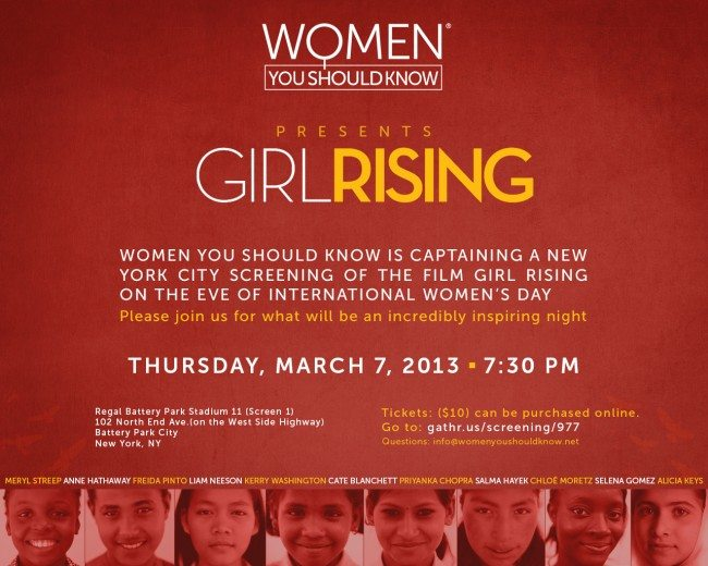 Girl Rising_WYSK Screening Art