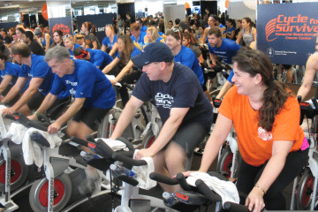 2013 Cycle for Survival_Equinox Rockefeller Center NYC