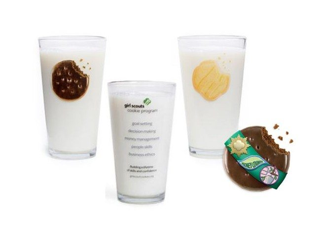 Girl Scout Cookie Glasses