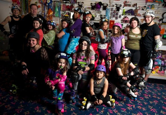 Anchorage Junior Roller Derby _Photo Credit: David Bedard