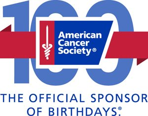 American Cancer Society 100th Anniversary Logo