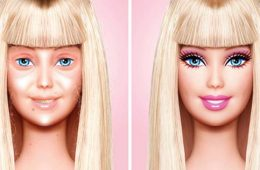 Barbie without make-up_by graphic artist Eddie Aguirre