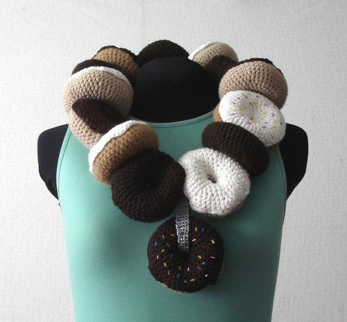 Donuts Are A Girls Best Friend Scarf