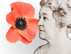 Moina Michael_Poppy Lady