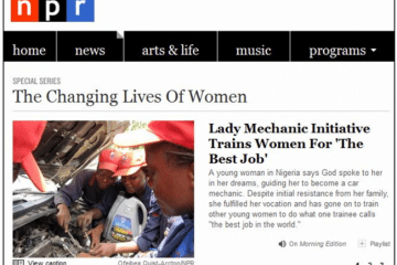 NPR The Changing Lives Of Women Series