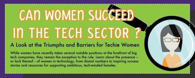 Tech infographic header