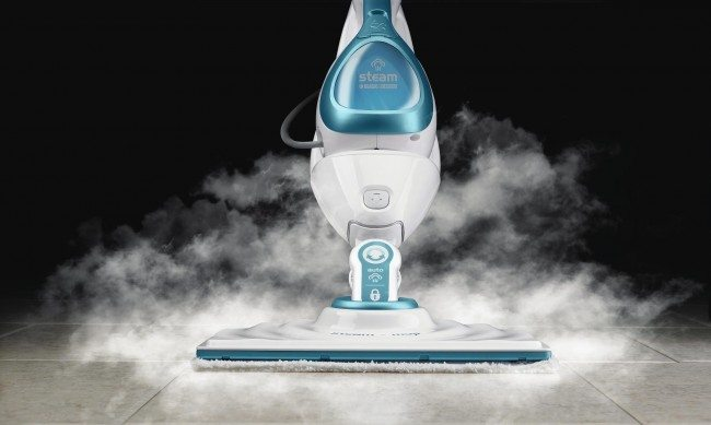 Black & Decker 2-in-1 Steam Mop Drama