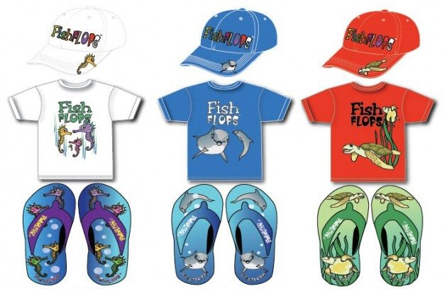 FishFlops outfits