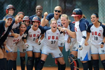 OLYMPICS: Softball-USA vs Japan