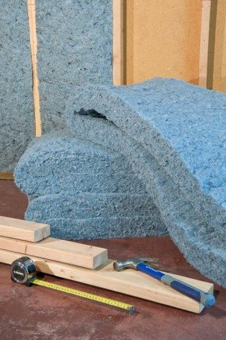 UltraTouch Denim Insulation Set-up