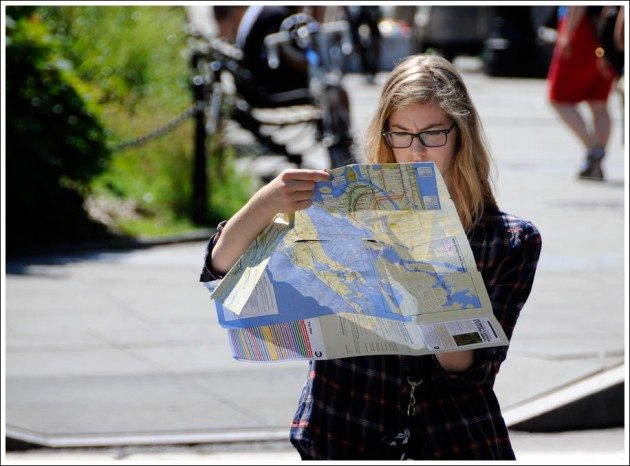 girl-and-map