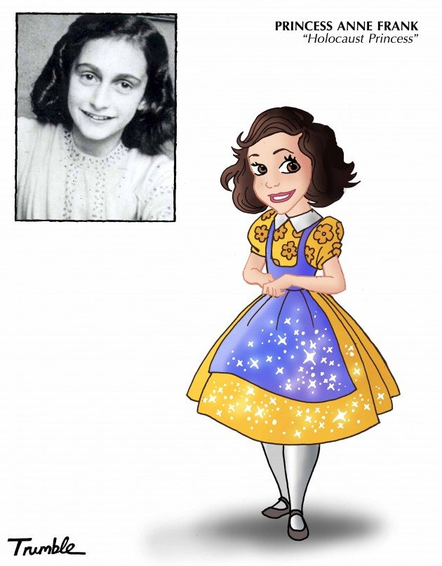 5) ANNE FRANK PRINCESS