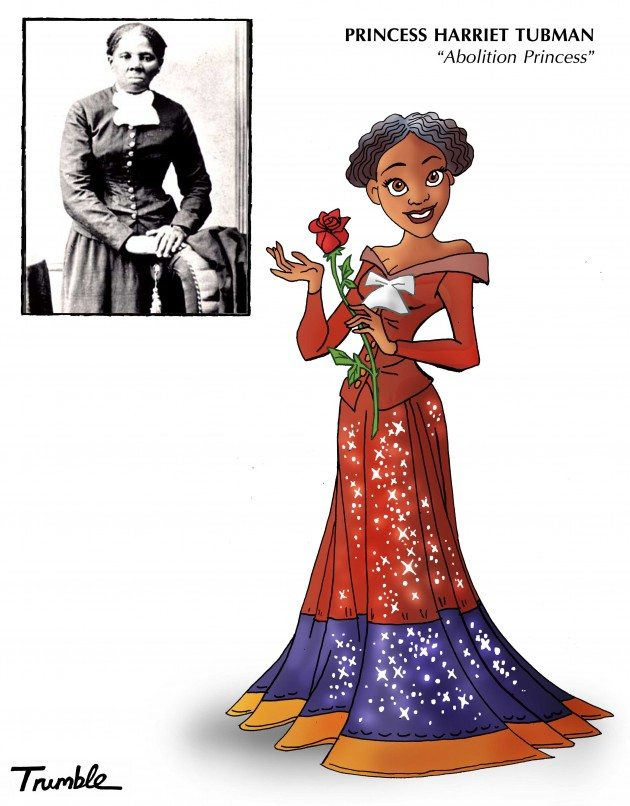 6) HARRIET TUBMAN PRINCESS