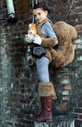 Anya Rose (age 8) as Squirrel Girl