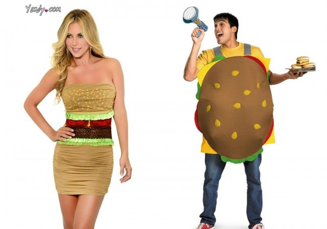 sc 1 st  Women You Should Know & Sexy Hamburger Halloween Costume Leaves Bad Taste