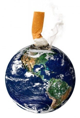 earth as ashtray