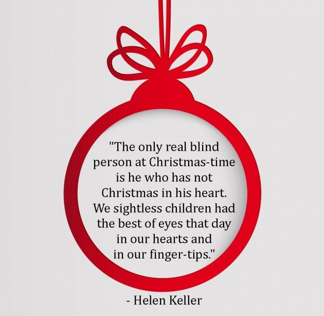 Holiday Quote_Helen Keller