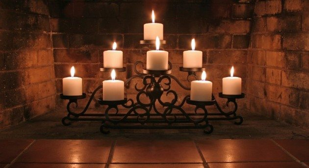 hearth candelabra