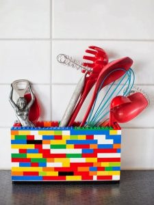 lego kitchen utensil holder