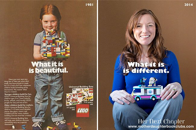 The Little Girl from the 1981 LEGO Ad is All Grown Up, and She's Got Something to Say
