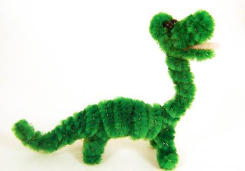 pipe cleaner dino