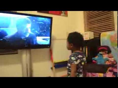 This 2.5-Year Old Girl's Joy For COSMOS is Contagious