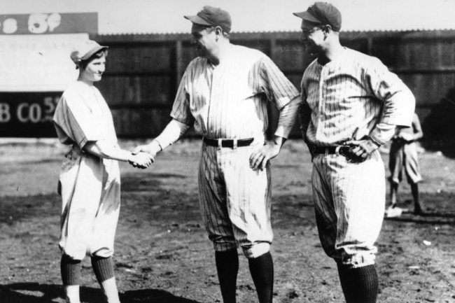 jackie and babe ruth
