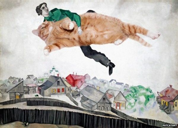 Over the Town, Marc Chagall