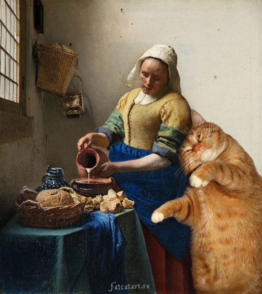 The Kitchen Maid by Johannes Vermeer