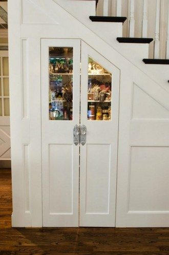 under stair pantry