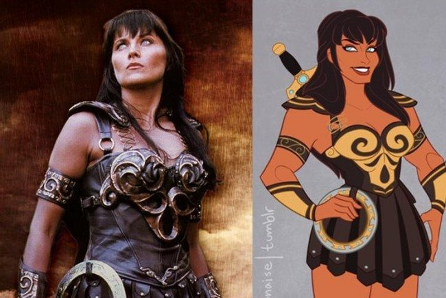 Artist Resurrects Xena Warrior Princess To Show Girls A Female Hero