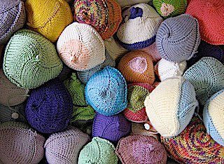 Knitted Knockers supply