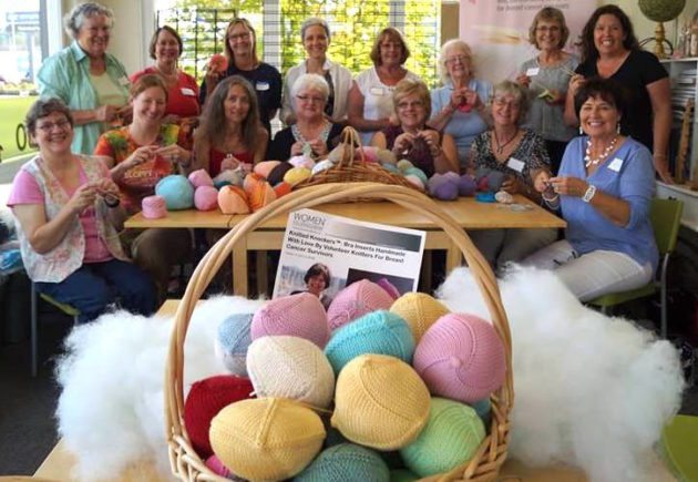 knitted knockers sewing group