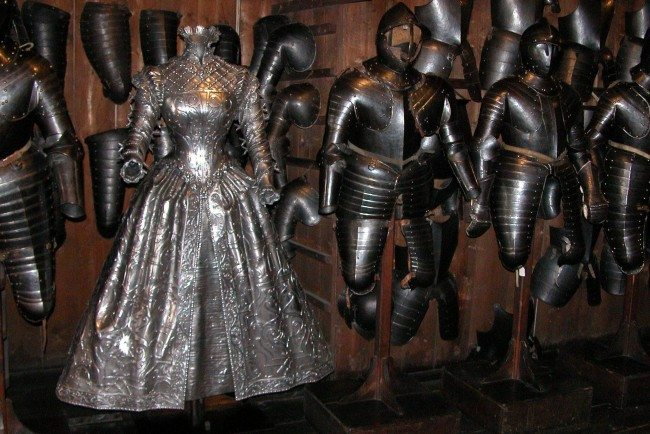 The Surprising Truth Behind The Armor Dress Quot That Whipped