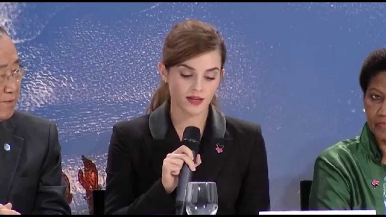 Emma Watson Gives Another Moving Speech Encouraging Global Leaders To Join HeForShe Campaign For Gender Equality