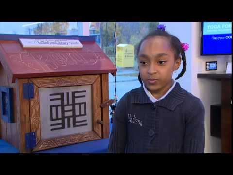 Madison Loves Books: 8-Year-Old Delivers The Most Impassioned Pitch For Her Local Little Free Library