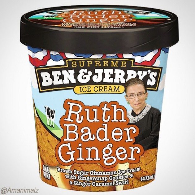 Ruth Bader Ginger