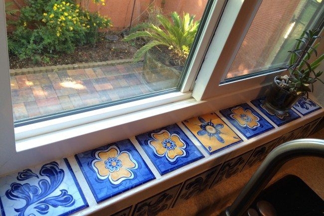 Fix It Friday How To Easily Turn A Boring Windowsill Into Beautiful Focal Point With Tile