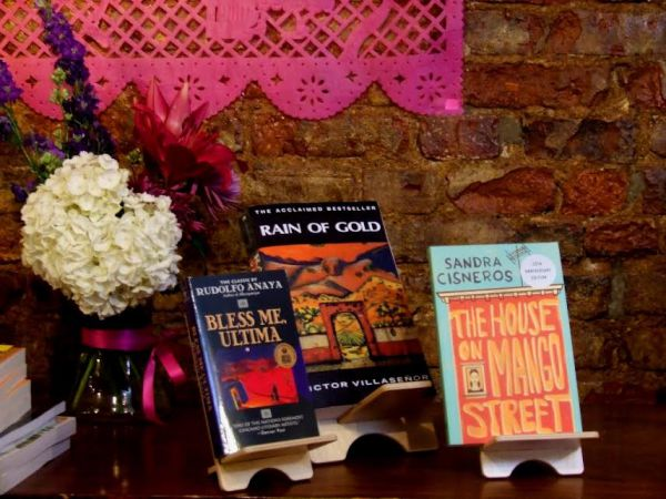 Casa Azul's shrine to the trilogy of influential books