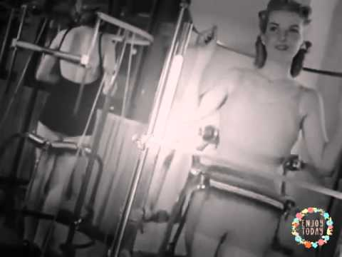 WOMANeuvers: How Women Were Told To Workout In The 1940s