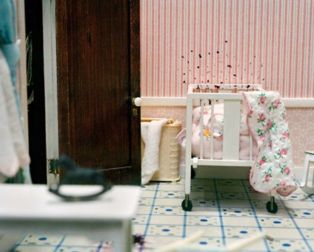 "[Baby's Room in ""The Three Room Dwelling."" Photo by Corinne Botz]"